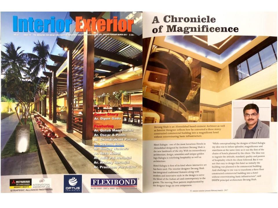 Hotel Eulogia Interior Exterior Magazine